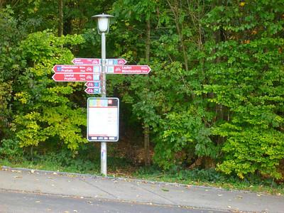 Bike signposting
