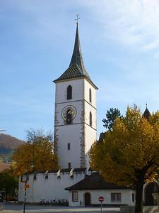 Muttenz church