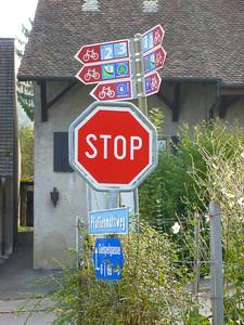 More bike signposting