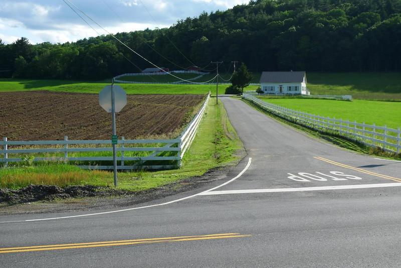 A Vermont farm scene