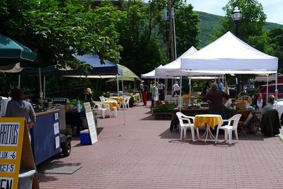 Brattleboro farmer's market