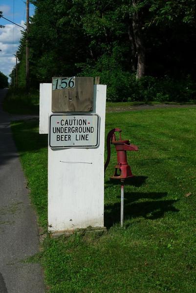 Underground Beer Line