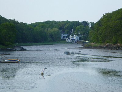 Tide going out in Annisquam