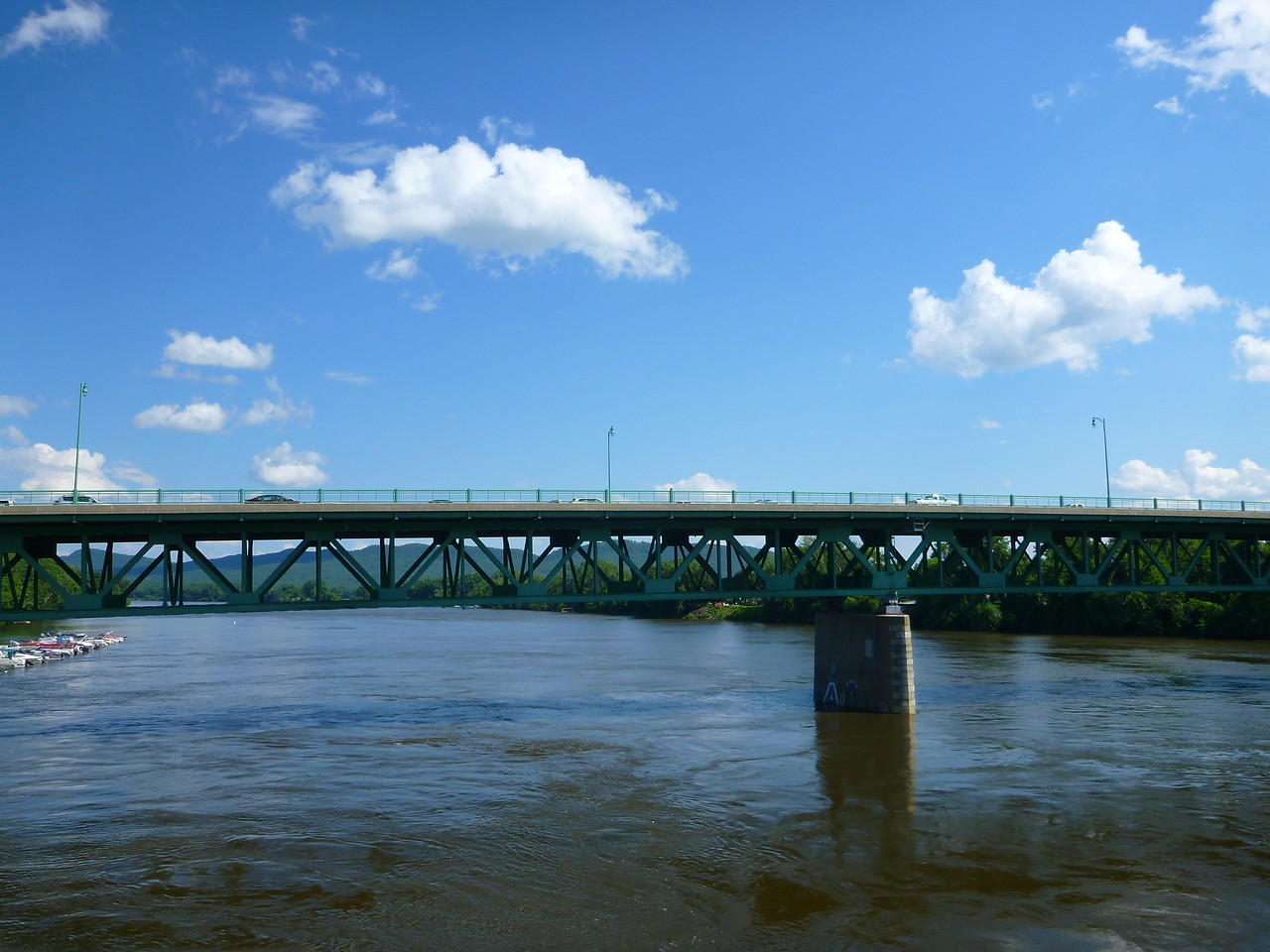 The Coolidge Bridge and the Connecticut