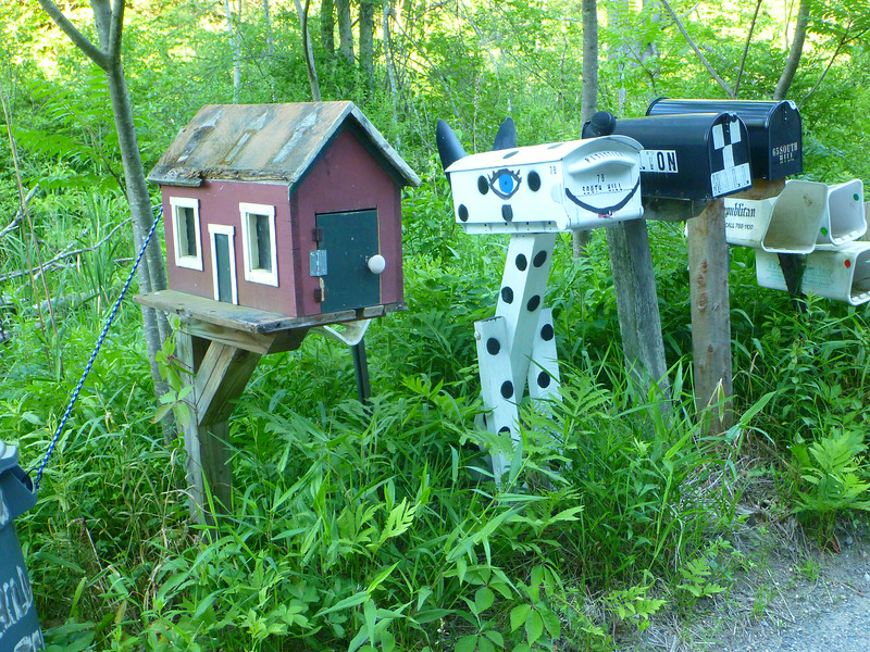 More mailboxes