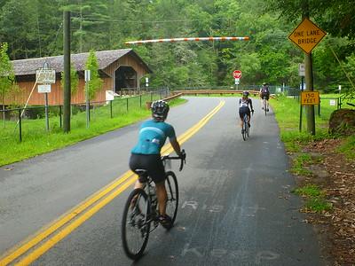 Heading toward the Eunice Williams Bridge