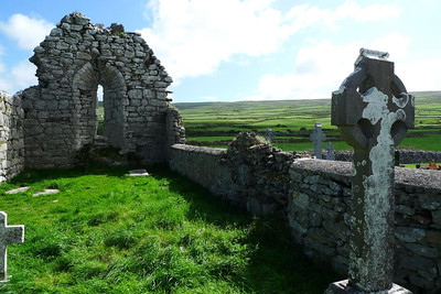 Ruined church in Fanore