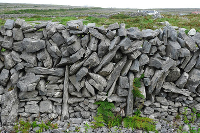 Traditional Aran Island fence