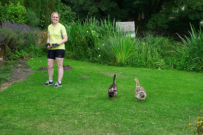 Jennifer and her entourage