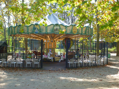 Carousel in the Bois de Vincennes