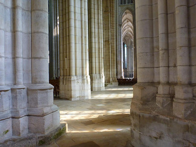 Pillars in the cathedral
