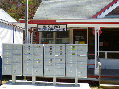 Wendell Depot Post Office