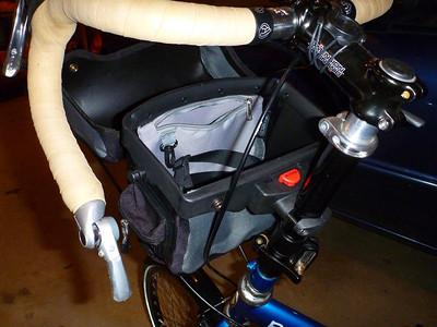 NWT handlebar bag solution
