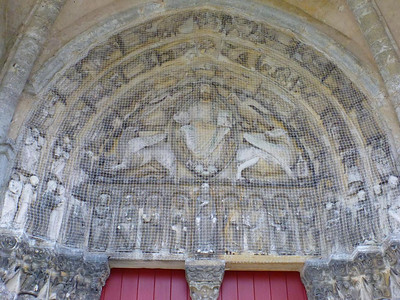 Priory, Saint-Loup (detail)
