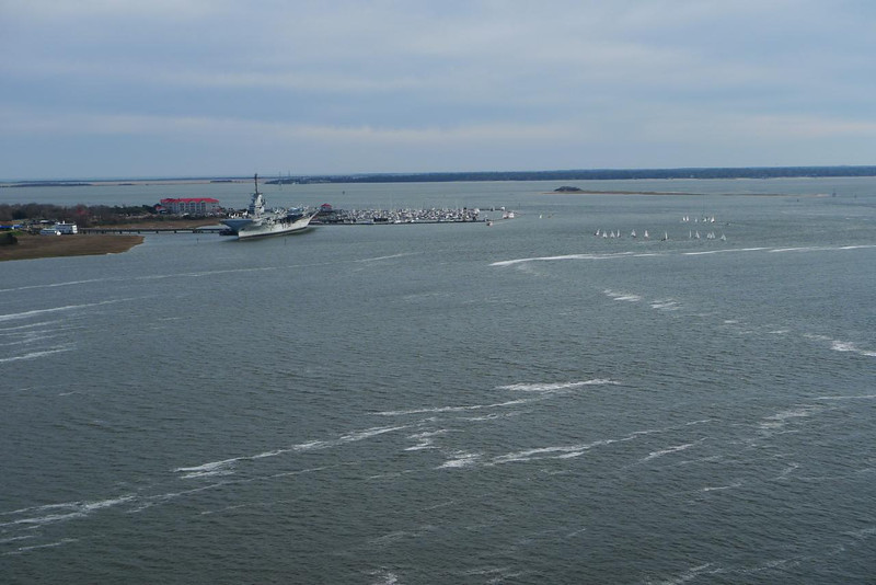 Yorktown and Cooper River