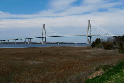 Ravenel Bridge from Patriot's Point
