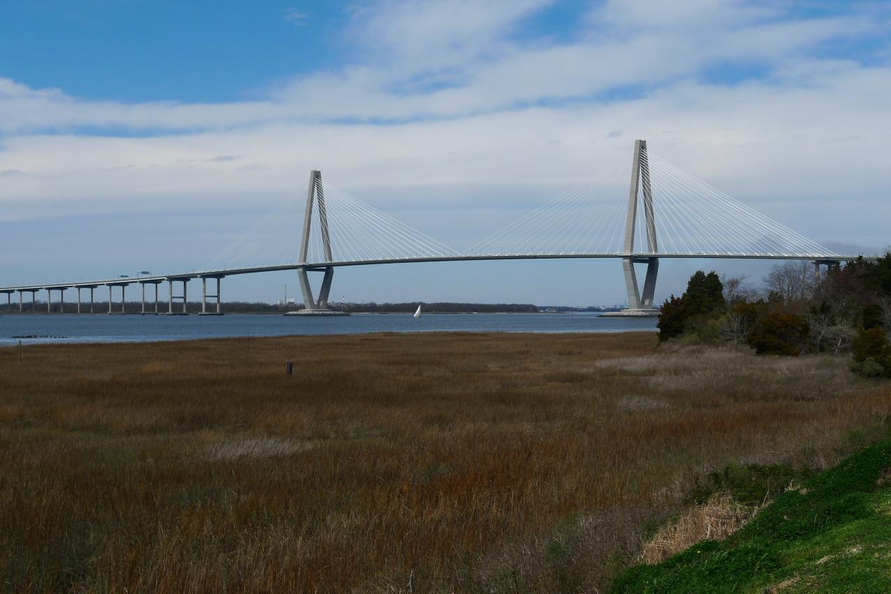 Ravenel Bridge from Patriot's Point