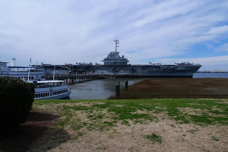 USS Yorktown from Patriot's Point