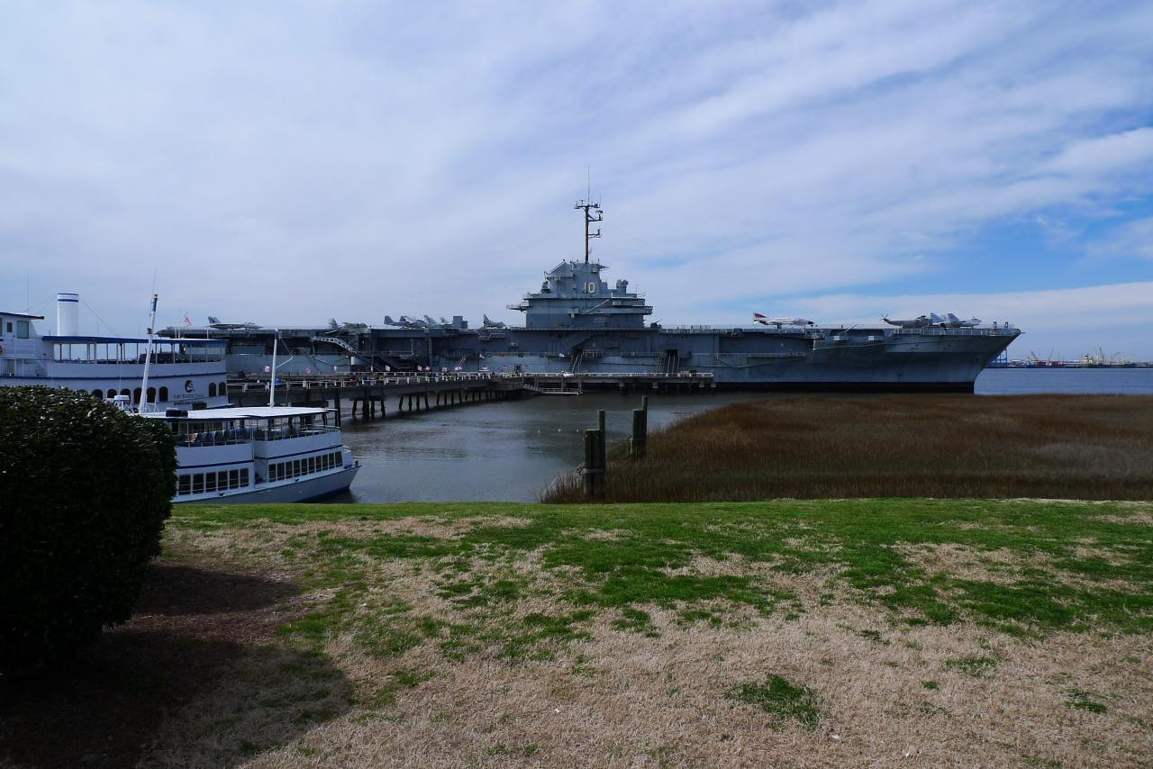 USS Yorktown from Patriot's Point