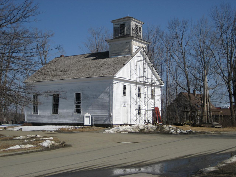 Wendell meeting house