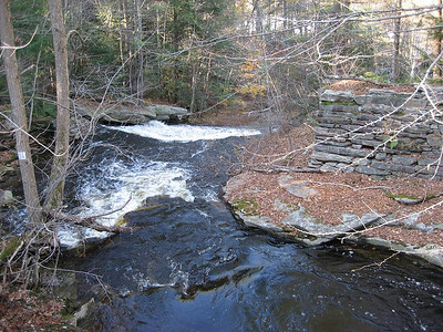 Stream near North Leverett