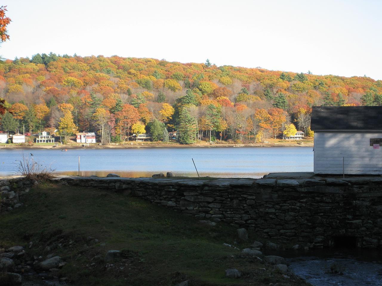 Lake Wyola and the dam