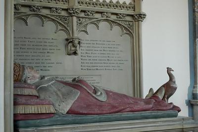 A Harcourt tomb