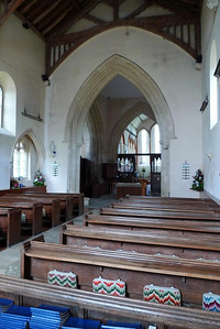 Chancel from the nave