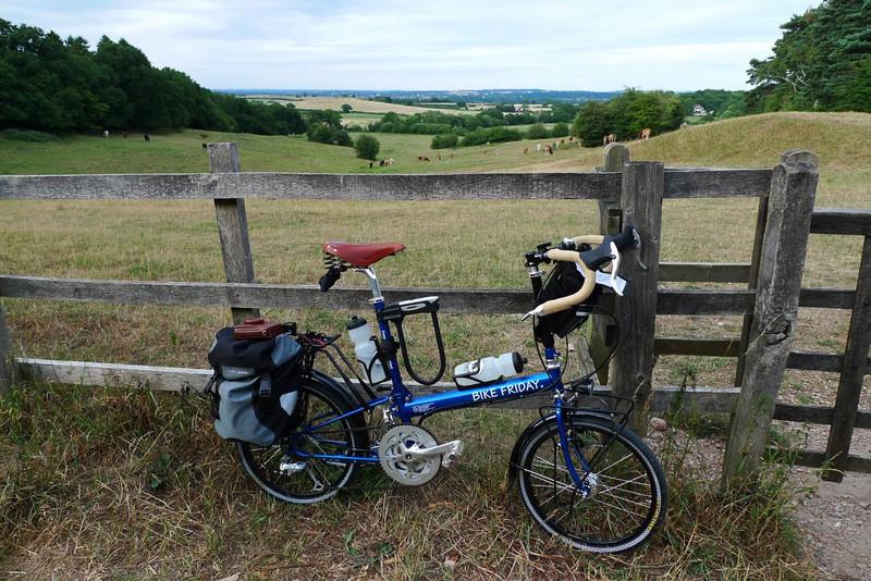 Bike and field
