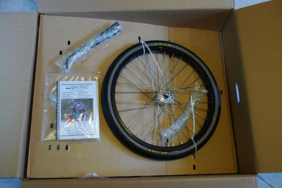 Wheel and instruction manual