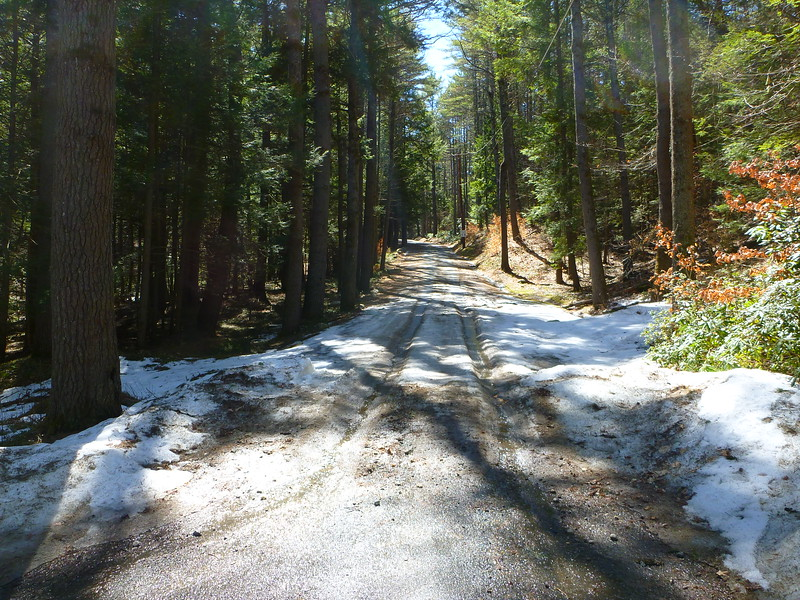 Brushy Road, Warwick: Snow and an 18% grade