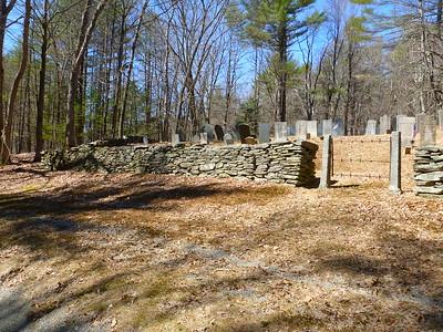 Cemetery, Jackson Hill Road, Leverett