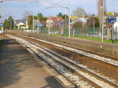 The rails back to Paris