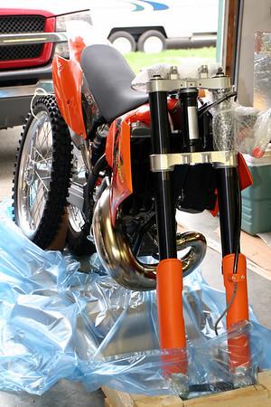 2006 KTM 250 XC assembly - Sept 31st 2006