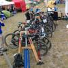 We've got a fancy bike rack! #styling