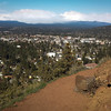 <b>27 April 2014</b> Out trail running in Bend, up Pilot Butte and down again