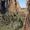 <b>29 April 2014</b> Smith Rock, Oregon - wish we'd brought climbing gear