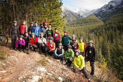 2016-10 Canmore Bikepack Summit