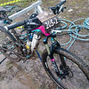 My bike after my last lap. Not too bad this time round.
