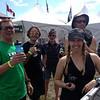 Team Canmore: Allan, Patrick, Kate and Amanda