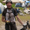 <b>23 July 2011</b> Andre, now coated in mud after the first lap