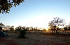 Saturday 10th May 2014 07:00AM: On the road to Alice Springs! Dawn breaks over the Barkley Homestead caravan park (situated on the Barkley Highway between Camooweal and Tennant Creek, about 250km west of the Queensland/Northern Territory border).