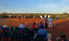 Thursday 15th May 2014 5:45PM: Tourists waiting for a sunset view of Uluru (Ayers Rock), within the Uluru-Kata Tjuta National Park (an UNESCO World Heritage site).