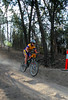 Snap of random rider on the dusty Beechworth course for Six Hours in the Saddle