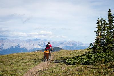 2013-08 Bikepacking Jumpingpound Ridge