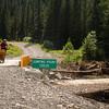Powderface Trail - Jumping Pound Creek bridge