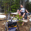 <b>17 June 2012</b> Lunch at the summit ... pass