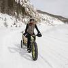 <b>22 March 2013</b>  Snow biking Goat Creek - over the pass
