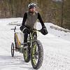<b>22 March 2013</b>  Snow biking Goat Creek - up the hill