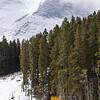 <b>22 March 2013</b>  Snow biking Goat Creek - heading up Whiteman's Gap